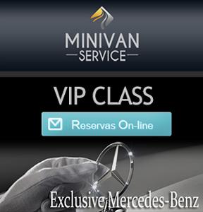 Minivan Service para VIPS